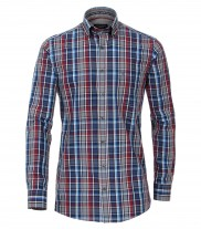 Casa Moda - Navy Grey Red Check - 483021200 750