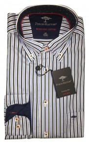 Fynch Hatton - Navy Stripe