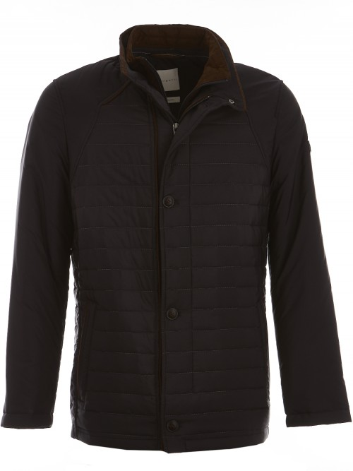 Bugatti - Quilted Jacket - Navy