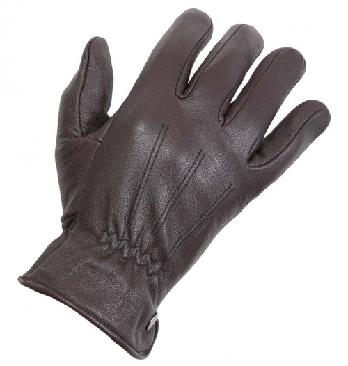 Leather Gloves - Bugatti - Brown