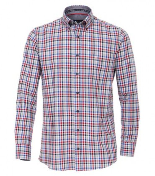 Casa Moda - Red Navy Check - 483016700 400
