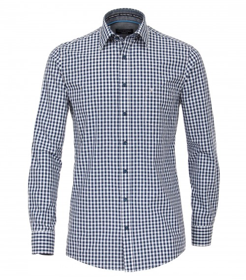 Casa Moda - Navy White Check - 483017300 100