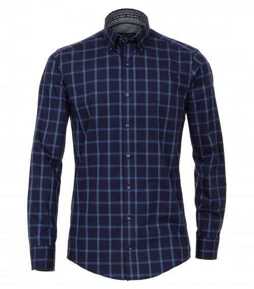 Casa Moda - Navy Blue Check - 483018300 100