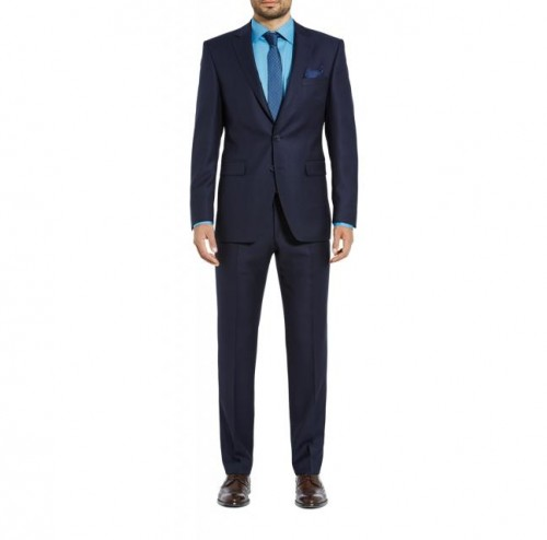 Digel - 99652 22 Navy Blue Pinhead - INCLUDES SHIRT AND TIE
