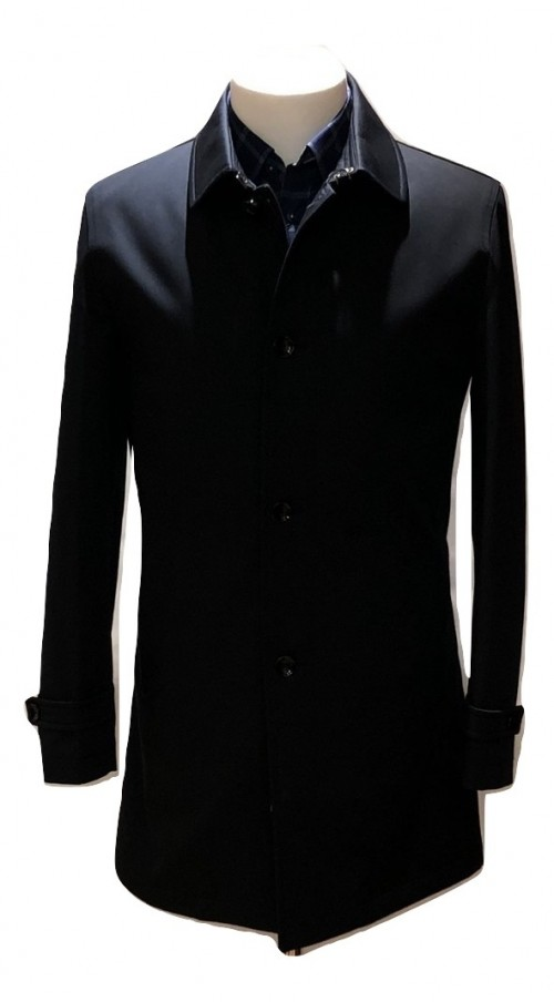 SOLD OUT Herbie Frogg - Navy Overcoat