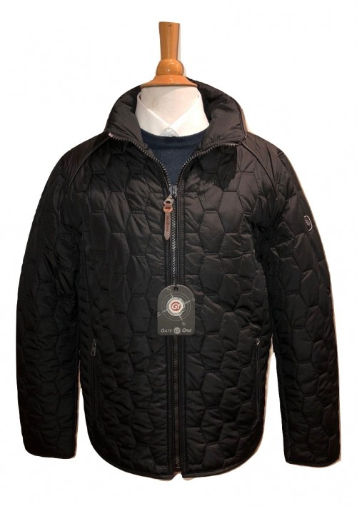 GATE 1 - PADDED JACKET - BLACK