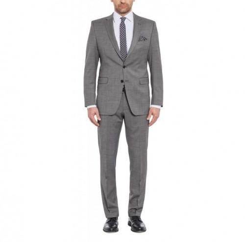 DIGEL - 99653 46 - GREY - INCLUDES FREE SHIRT AND TIE