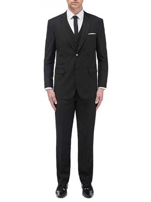 Skopes Madrid Black - 3 Piece Suit