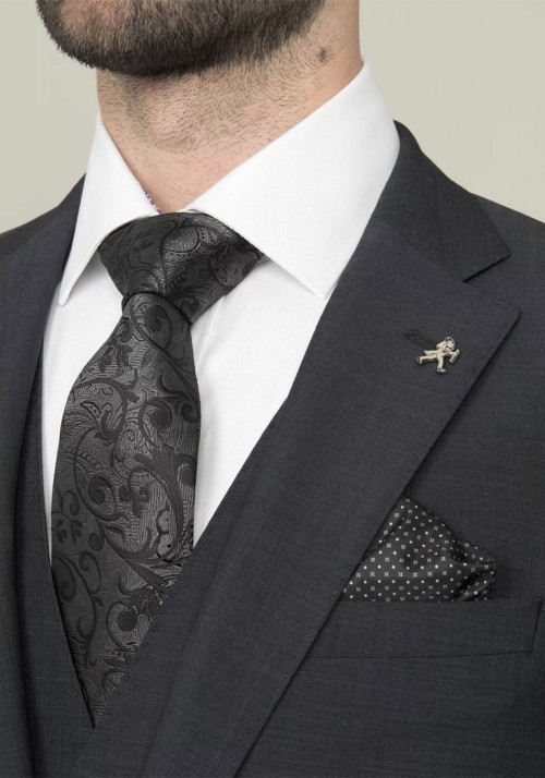 Herbie Frogg - Charcoal 3 Piece - INCLUDES SHIRT AND TIE