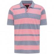 Fynch Hatton - 11211752-1686 Pink Grey Stripe Polo