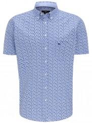 Fynch Hatton - 11215061-5060 Blue Pattern