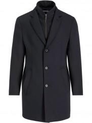 Bugatti - Navy Overcoat