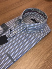 CASA MODA - GREY STRIPE