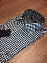 CASA MODA - NAVY GREY CHECK