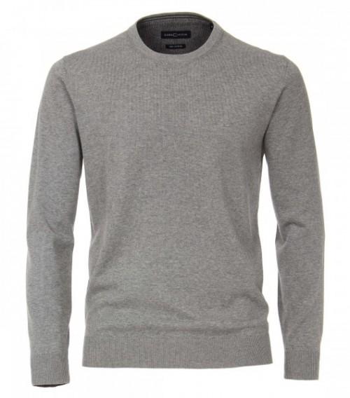 Casa Moda - Round Neck Jumper - Light Grey