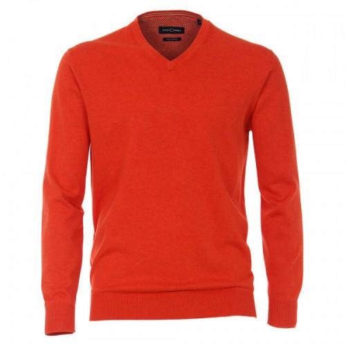 Casa Moda - V Neck Jumper - Orange