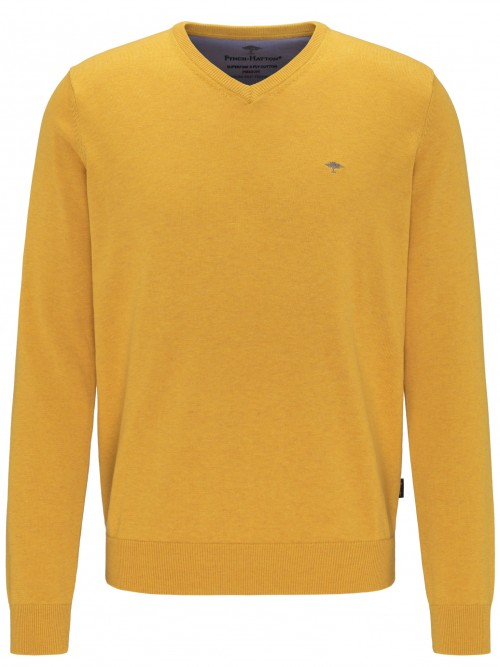 Fynch Hatton - Citron - V Neck