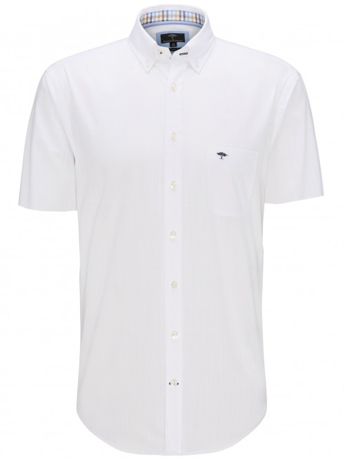 Fynch Hatton - White - Short Sleeve