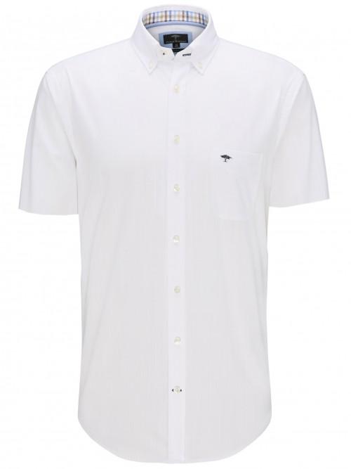 Fynch Hatton - White - Short Sleeve