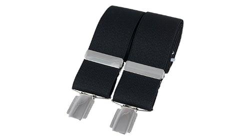 Braces - Black - One Size Adjustable