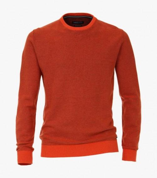 Casa Moda - Orange Round Neck