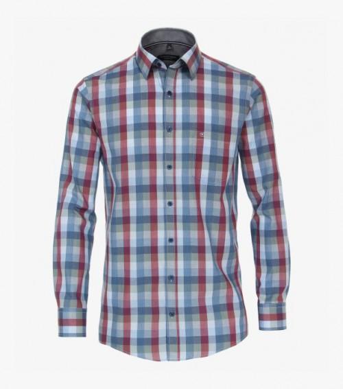 Casa Moda - 413636600-100 Blue Red Check