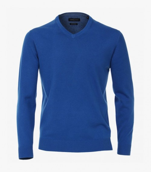 Casa Moda - Royal Blue V Neck