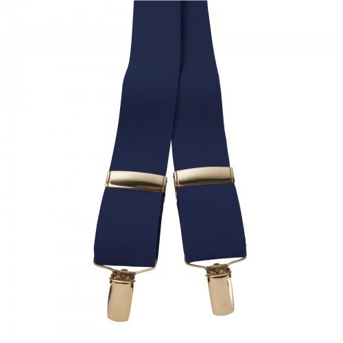 Braces - Navy - One Size Adjustable