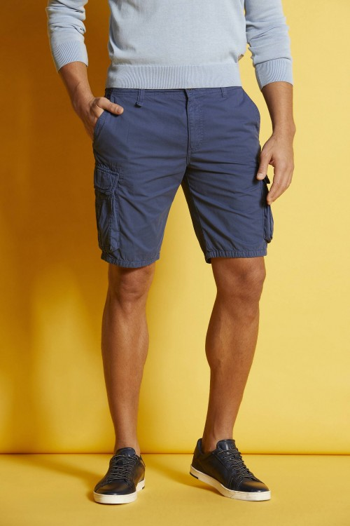 Bugatti - Shorts - Navy Cargo