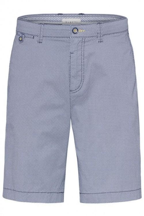 Bugatti - Shorts - Navy Print