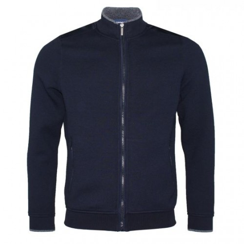Bugatti - 35181 390 Navy Full Zip