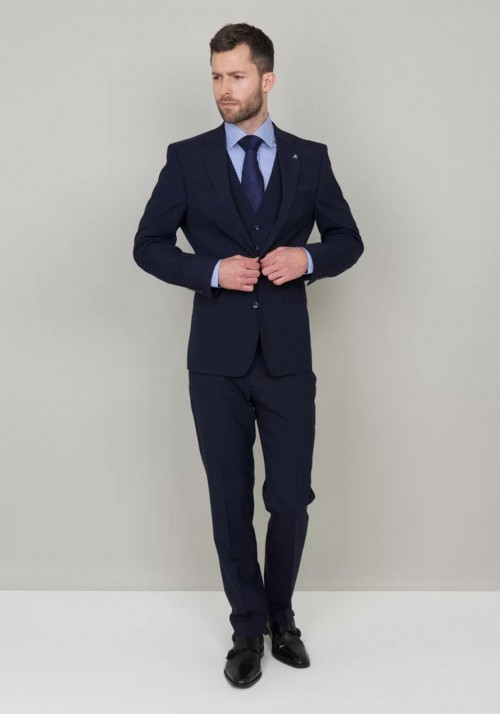 Herbie Frogg - 3 Piece - French Navy INCLUDES SHIRT AND TIE