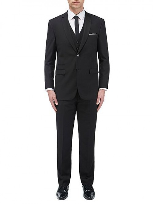 Skopes Madrid Black - 3 Piece Suit