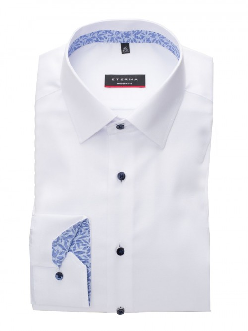 Eterna - 8466 X94P 00 WHITE OXFORD