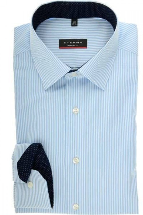 Eterna - 8992 X14P 12 BLUE STRIPE