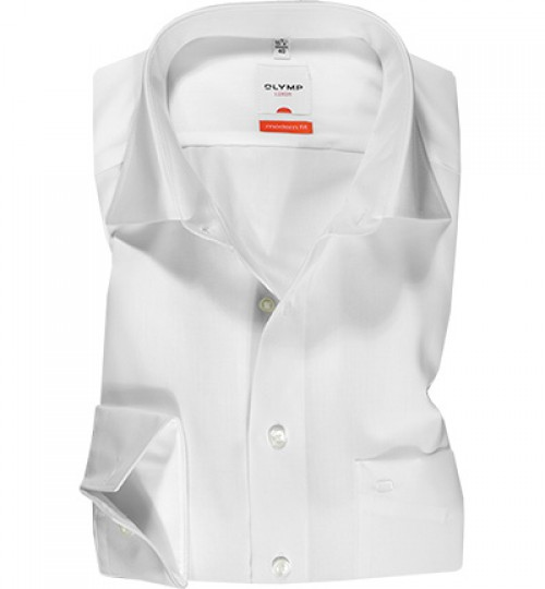 Olymp - White - Modern Fit - 03006400